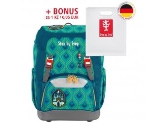 Step by Step školský ruksak GRADE Zázračný zámok + BONUS Dosky na zošity