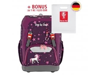 Step by Step školský ruksak GRADE Jednorožec + BONUS Dosky na zošity