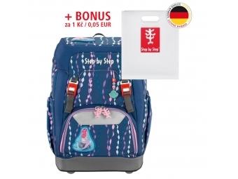 Step by Step školský ruksak GRADE Morská víla + BONUS Dosky na zošity
