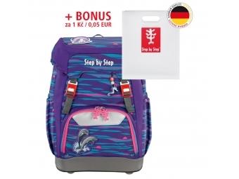 Step by Step školský ruksak GRADE Delfíny + BONUS Dosky na zošity