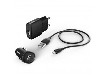 Hama 173622 Picco, nabíjací set, micro USB, 1 A, 3-dielny