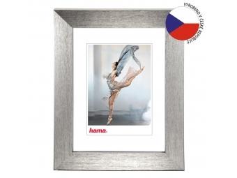 Hama 175603 rámček plastový PARIS, strieborná 21x29,7 cm