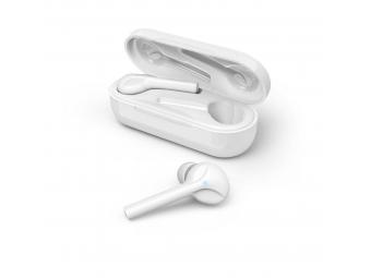Hama 177058 Bluetooth štupľové slúchadlá Style, bezdrôtové, nabíjacie puzdro, biele