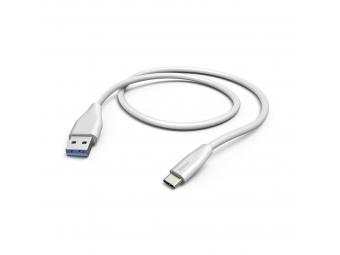 Hama 178397 kábel USB-C 3.1 A vidlica - typ C vidlica, 1,5 m, biely