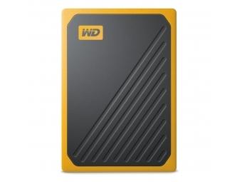 WD My Passport Go SSD, USB 3.0, 2 TB, čierna/žltá