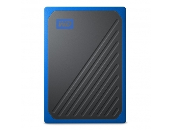WD My Passport Go SSD, USB 3.0, 2 TB, čierna/modrá