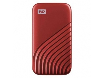 WD My Passport SSD 500 GB Red