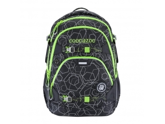 Coocazoo školský ruksak ScaleRale, Solar-Green, certifikát AGR + BONUS zdravá fľaša