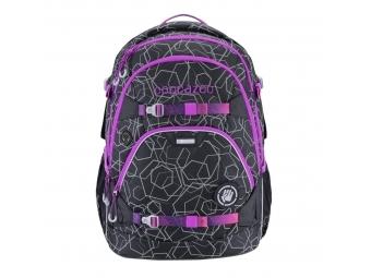 Coocazoo školský ruksak ScaleRale, Laserbeam Berry, certifikát AGR + BONUS zdravá fľaša