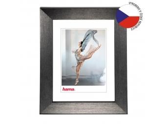 Hama 192875 rámček plastový PARIS, šedá, 29,7x42 cm