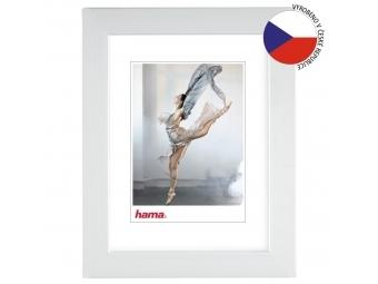 Hama 192886 rámček plastový PARIS, biela, 18x24 cm