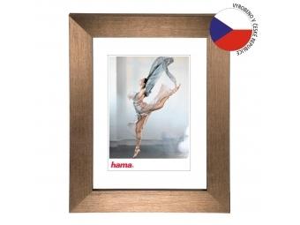 Hama 192894 rámček plastový PARIS, medená, 21x29,7 cm