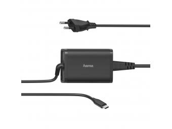 Hama 200006 USB-C napájací zdroj, Power Delivery, 5-20 V, 65 W