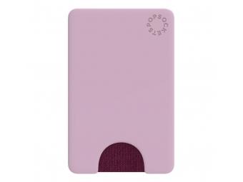 PopSockets PopWallet Blush Pink, puzdro na mobil na karty/vizitky a pod., ružové