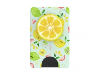 PopSockets PopWallet+ Fruit Salad, puzdro na karty/vizitky a pod. s integrovaným PopGrip Gen.2