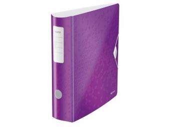 Leitz Zakladač pákový 180° Active WOW 8,2cm purpurový