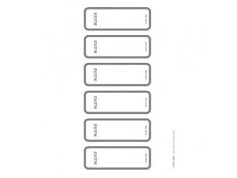 Leitz Chrbtové štítky potláčatelné pre zakladače 180° WOW šírka chrbta 50 mm (bal=60ks)