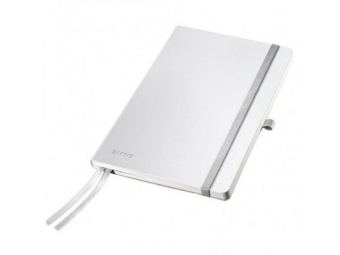 Leitz Zápisník linajkový A5 Style tvrdé dosky arkticky biely