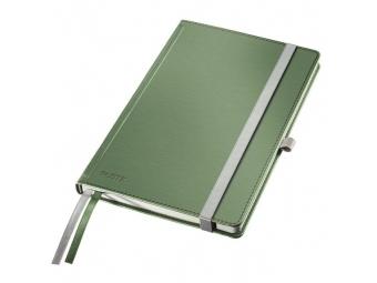Leitz Zápisník linajkový A5 Style tvrdé dosky zelenkavý