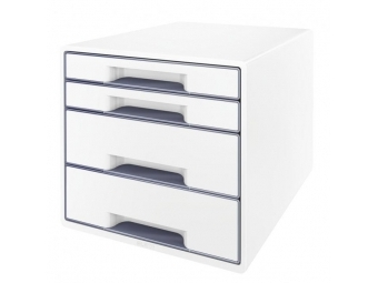Leitz Box zásuvkovýWOW sivá