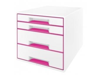 Leitz Box zásuvkový WOW ružový