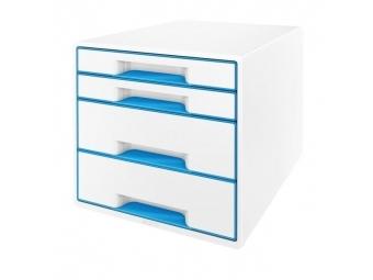 Leitz Box zásuvkový WOW modrý