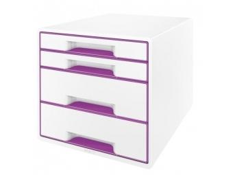 Leitz Box zásuvkový WOW purpurový
