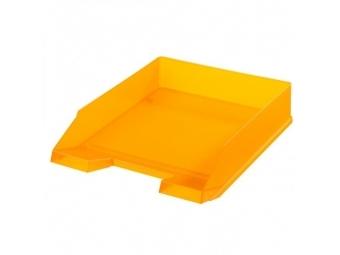 Herlitz Odkladač transparentný oranžový