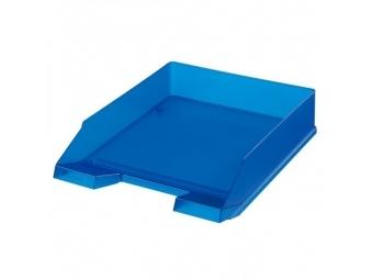 Herlitz Odkladač transparentný modrý