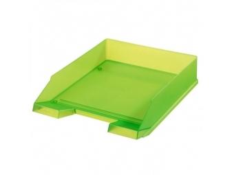 Herlitz Odkladač transparentný zelený