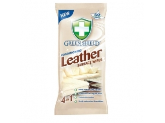 Green Shield čistiace utierky na kožu (bal=50ks)
