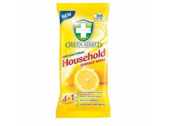 Green Shield čistiace utierky antibakteriálne (bal=50ks)