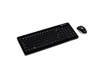 CANYON Bezdrôtová klávesnica CNS-HSETW3-SK optická myš čierna