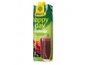 Rauch Džús Happy Day Multivitamín red fruit 100% 1l