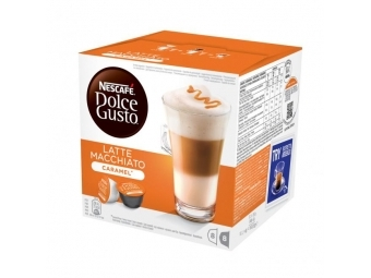 Nescafé Kapsule DOLCE GUSTO Latte Macchiato Caramel 168,8g