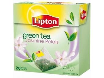 Lipton Čaj zelený Jasmine Petals pyramídy 36g