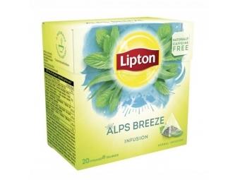 Lipton Čaj bylinný Infusion Herbal Alps Breeze pyramídy 22g