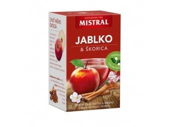Mistral Čaj ovocný Jablko a škorica 50g