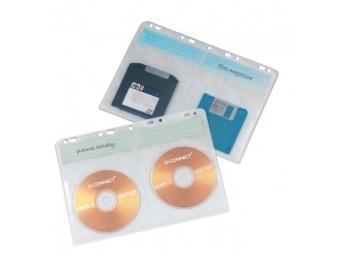 Q-CONNECT Obaly na archiváciu CD/DVD (bal=10ks)