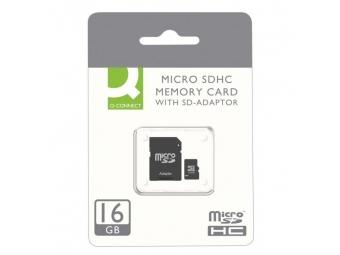 Q-CONNECT Pamäťová karta micro SDHC 16 GB