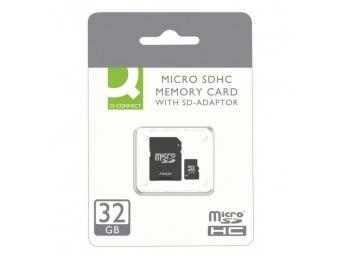 Q-CONNECT Pamäťová karta micro SDHC 32 GB