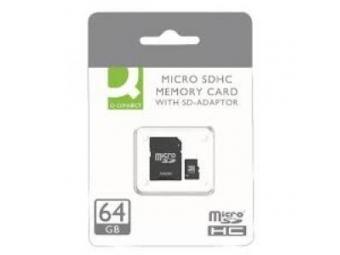 Q-CONNECT Pamäťová karta micro SDHC 64 GB