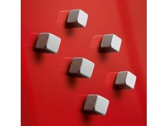 Sigel Magnety na sklenené tabule, dizajn kocka (bal=6ks)