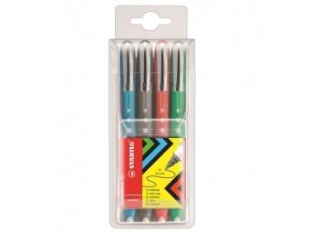 Stabilo Sada rollerov worker colorful (bal=4ks)