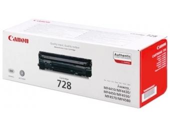 Canon 728 Bk Tonerová kazeta Black