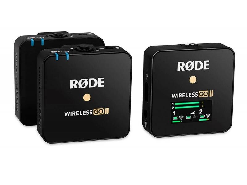 Rode Wireless GO II, univerzálny bezdrôdový mikrofónny set