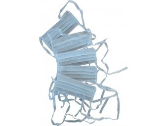 Rúško textilné antibakteriálne na opakované použitie so šnúrkou (bal=5ks)