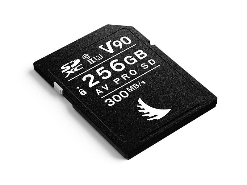 Angelbird AV PRO Secure Digital Card SDXC 256GB UHS-II, Class10, U3, V90 300/280 MB/s