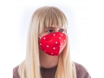 Fusakle maska ochranná s FFP3 filtrom, Láska