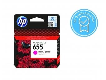 HP No.655 Atramentová kazeta Magenta (CZ111AE) KRÁTKA DOBA SPOTREBY Exsp.: 07 2021